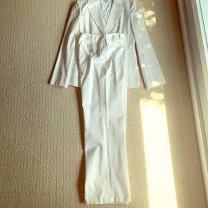 2-piece White Suit